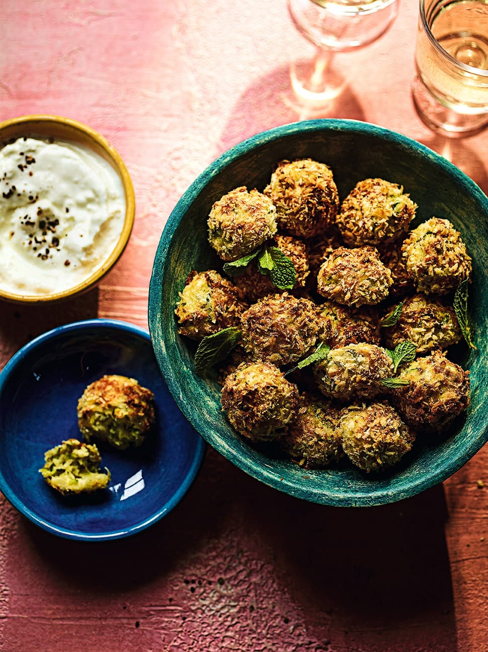 Photo of Courgette bites with feta dip by WW
