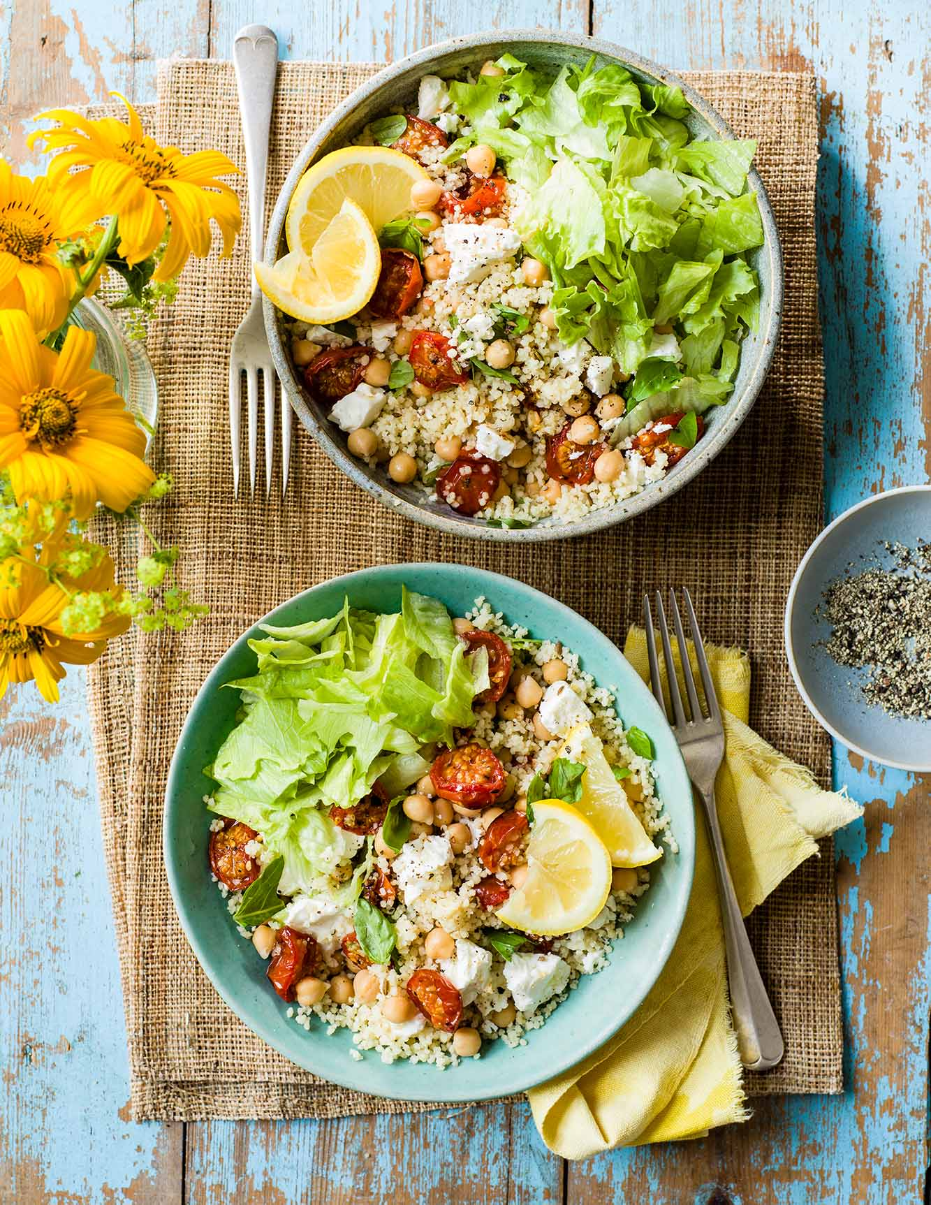 Photo of Roasted tomato couscous with feta by WW