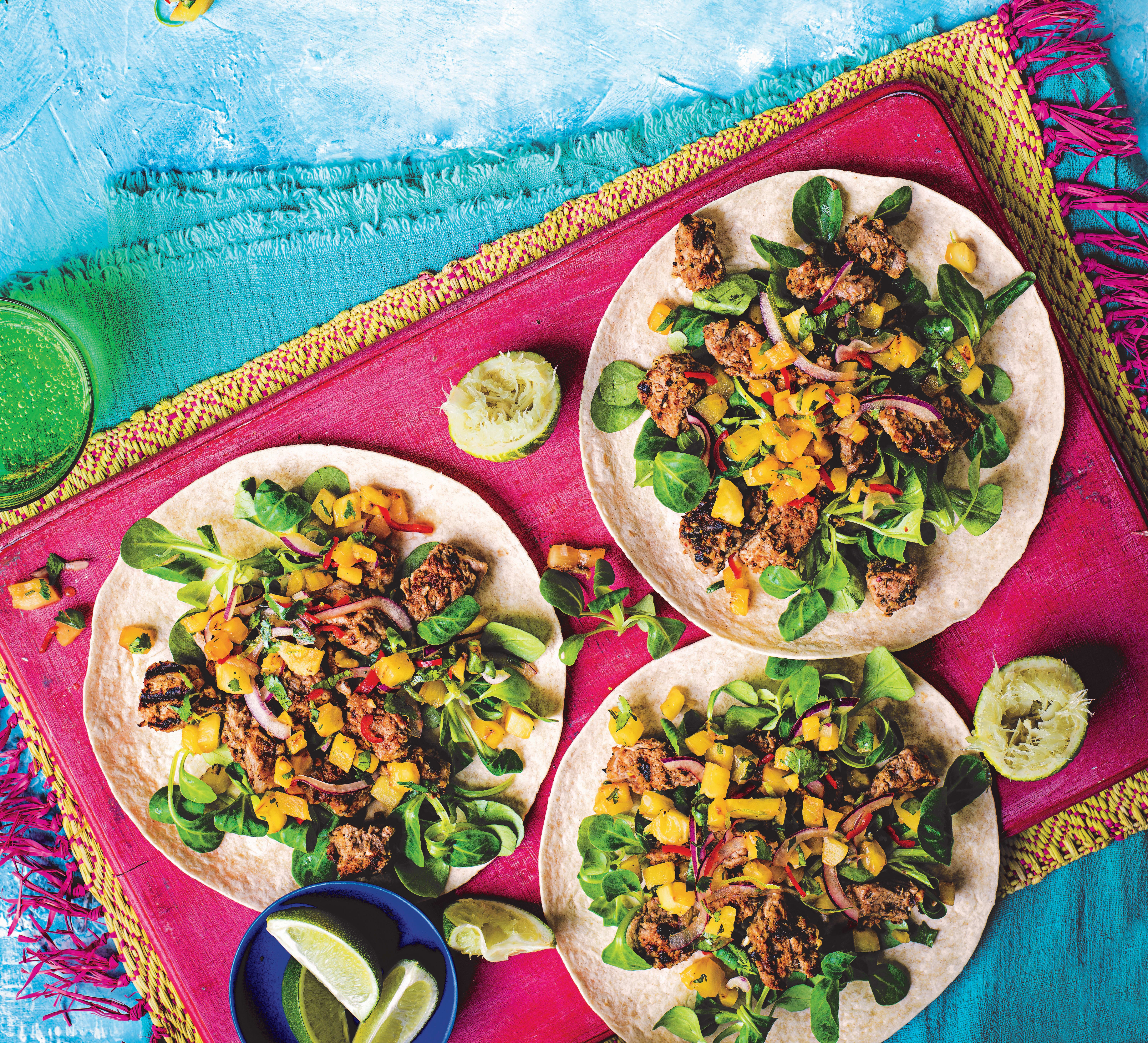 Photo of Pork tacos with spicy pineapple salsa by WW