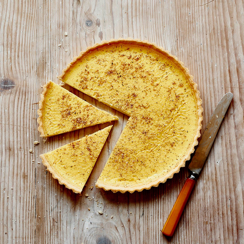 Photo of Baked custard tart by WW