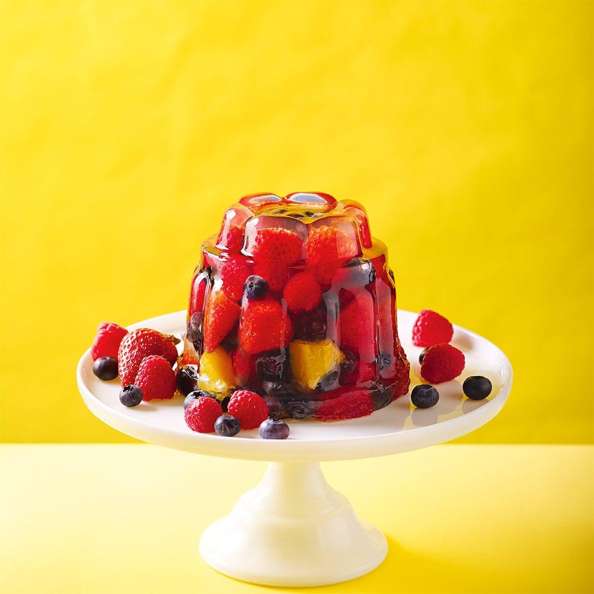 Photo of Berry & elderflower fruit jelly by WW