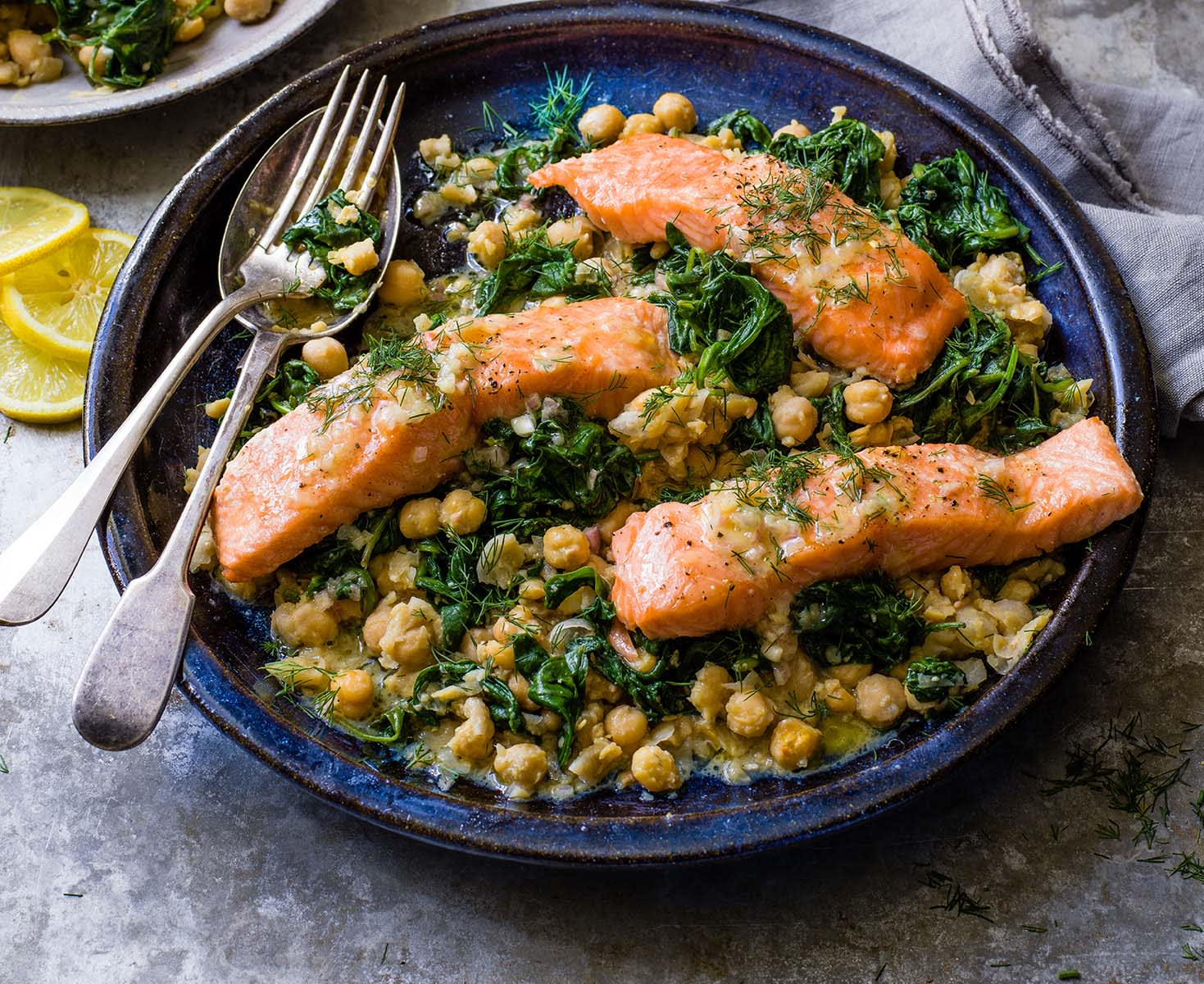 Photo of Slow cooked salmon with chickpeas by WW