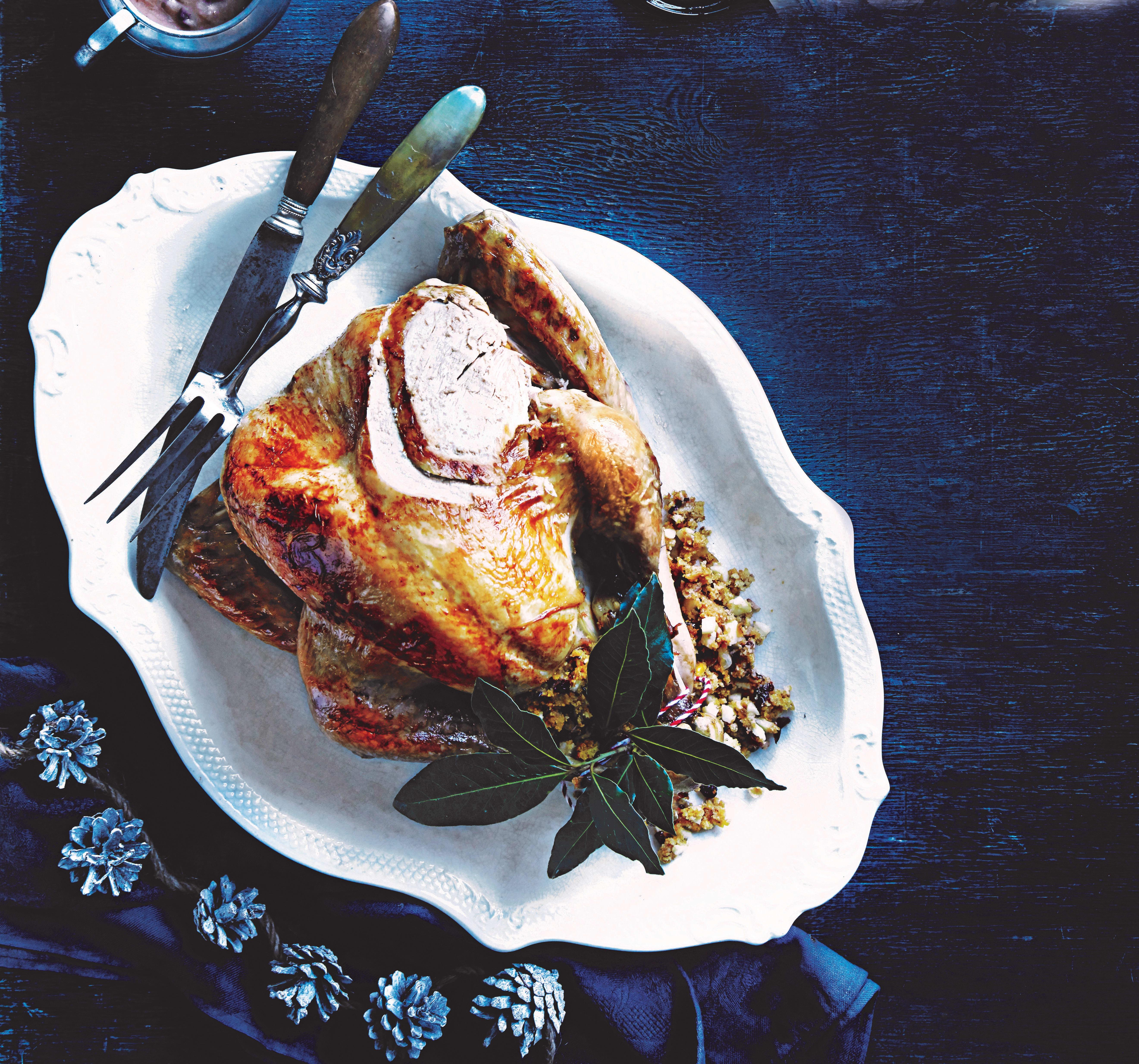Photo of Turkey with maple & orange glaze by WW
