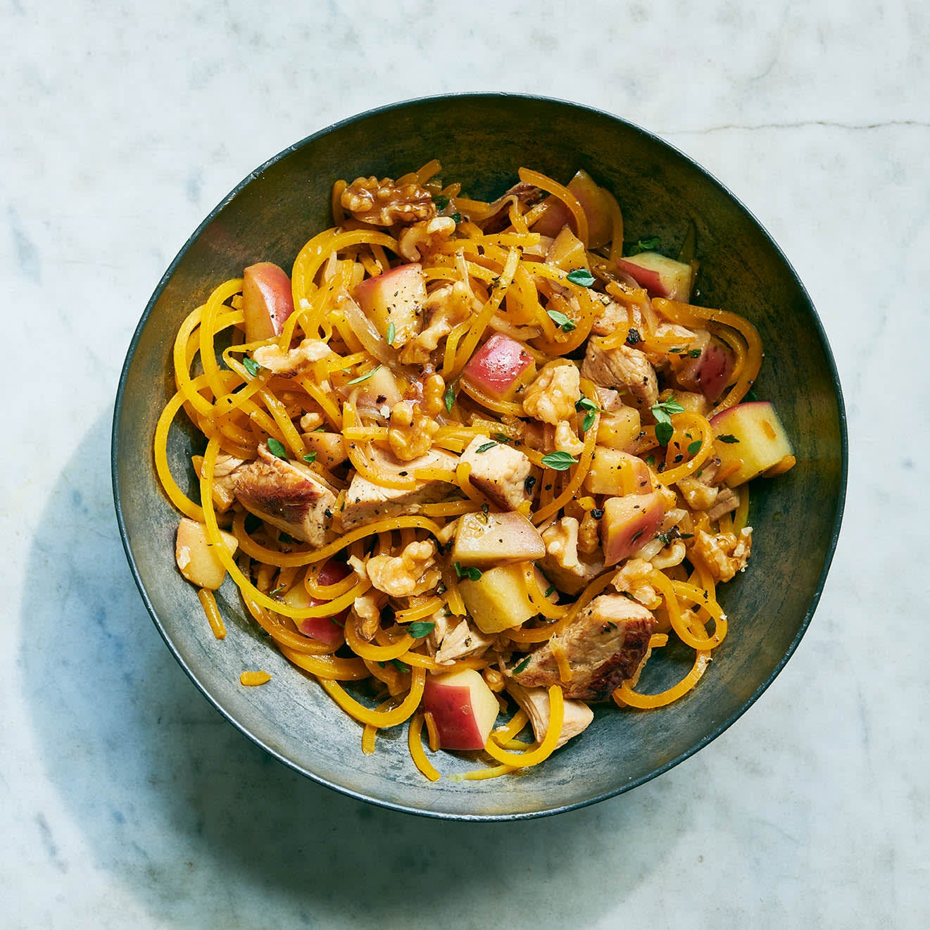 Photo of Butternut noodles with apple & turkey by WW