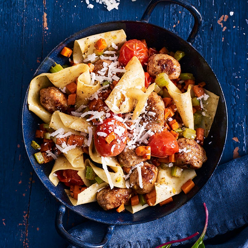Photo of Sausage pappardelle by WW