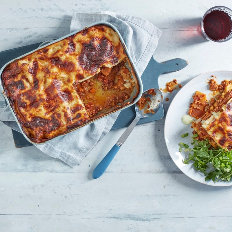 Photo of Beef & butternut squash lasagne by WW