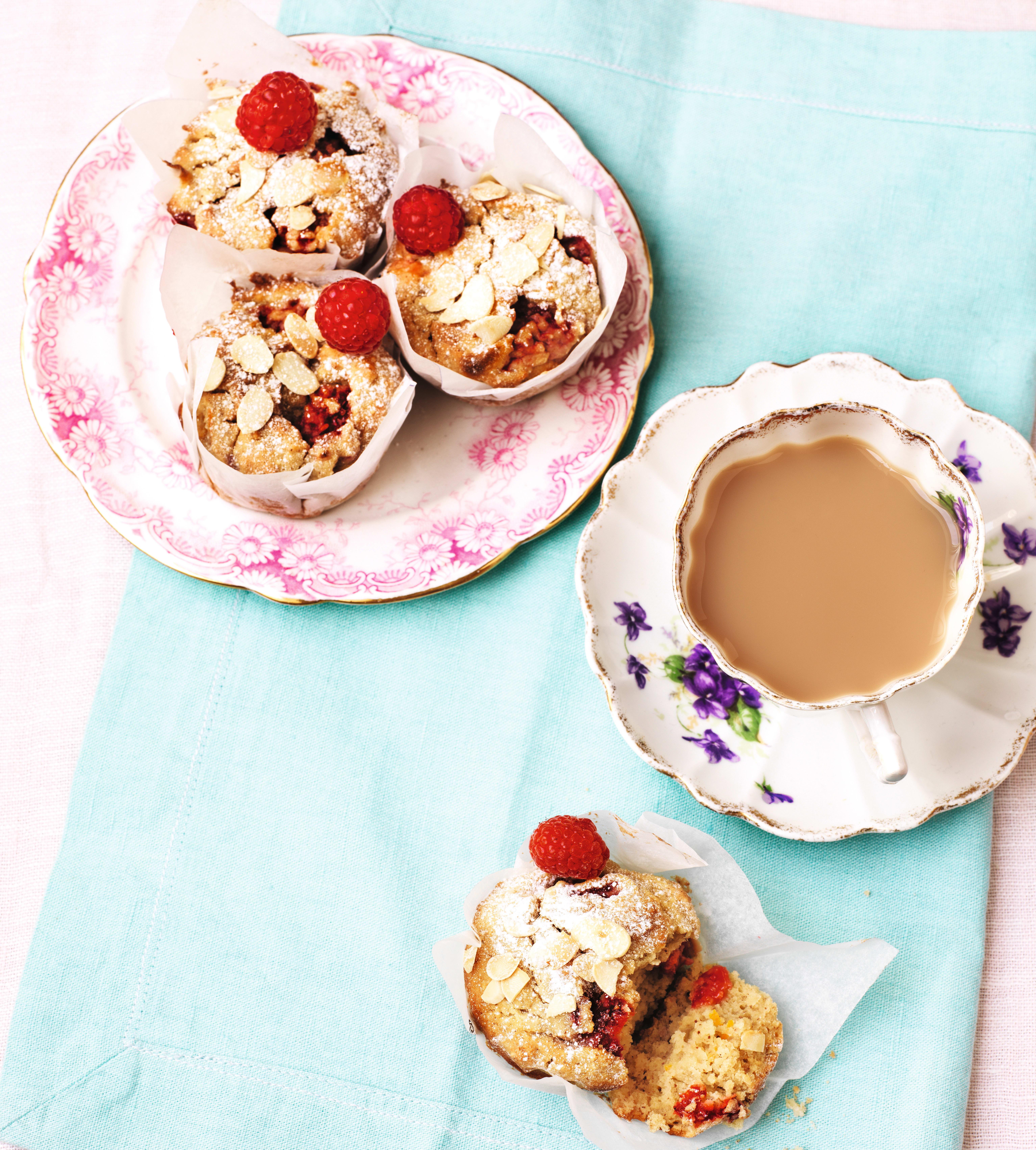 Photo of Raspberry, Almond Ricotta Muffins by WW