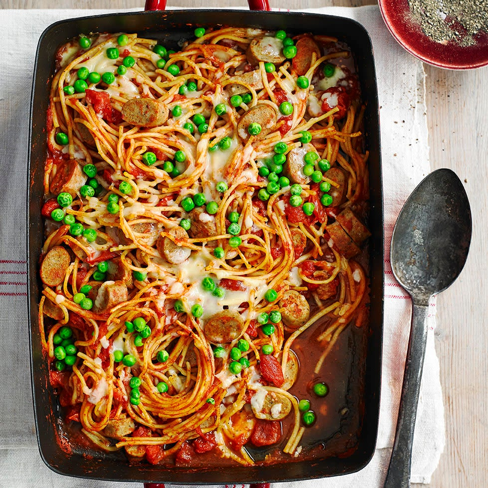 Photo of Quorn™ sausage pasta bake by WW