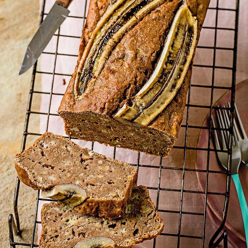Photo of Banana &  walnut loaf by WW