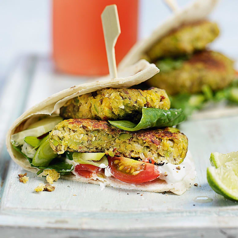 Photo of Falafel wraps by WW