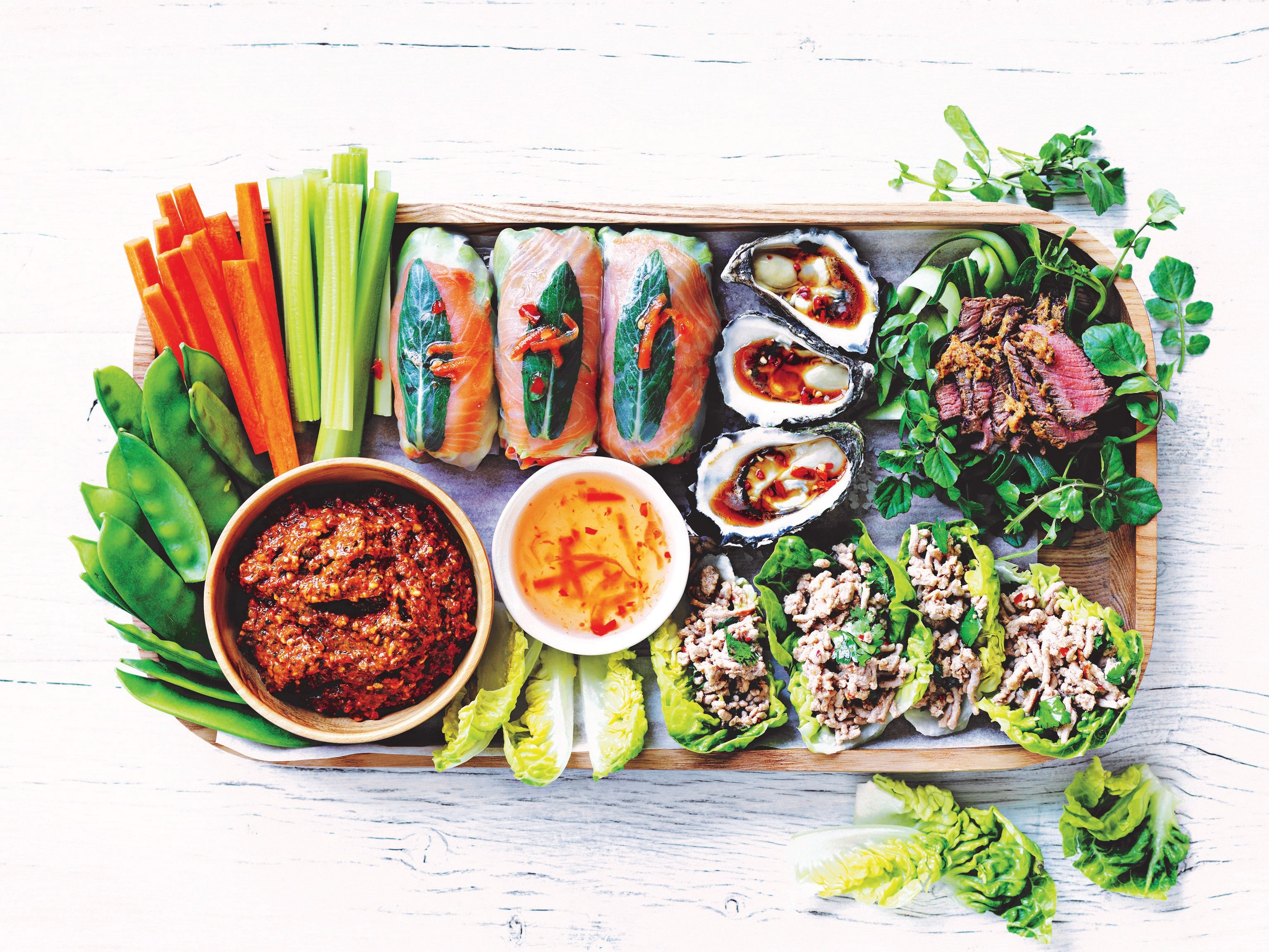 Photo of Asian platter by WW