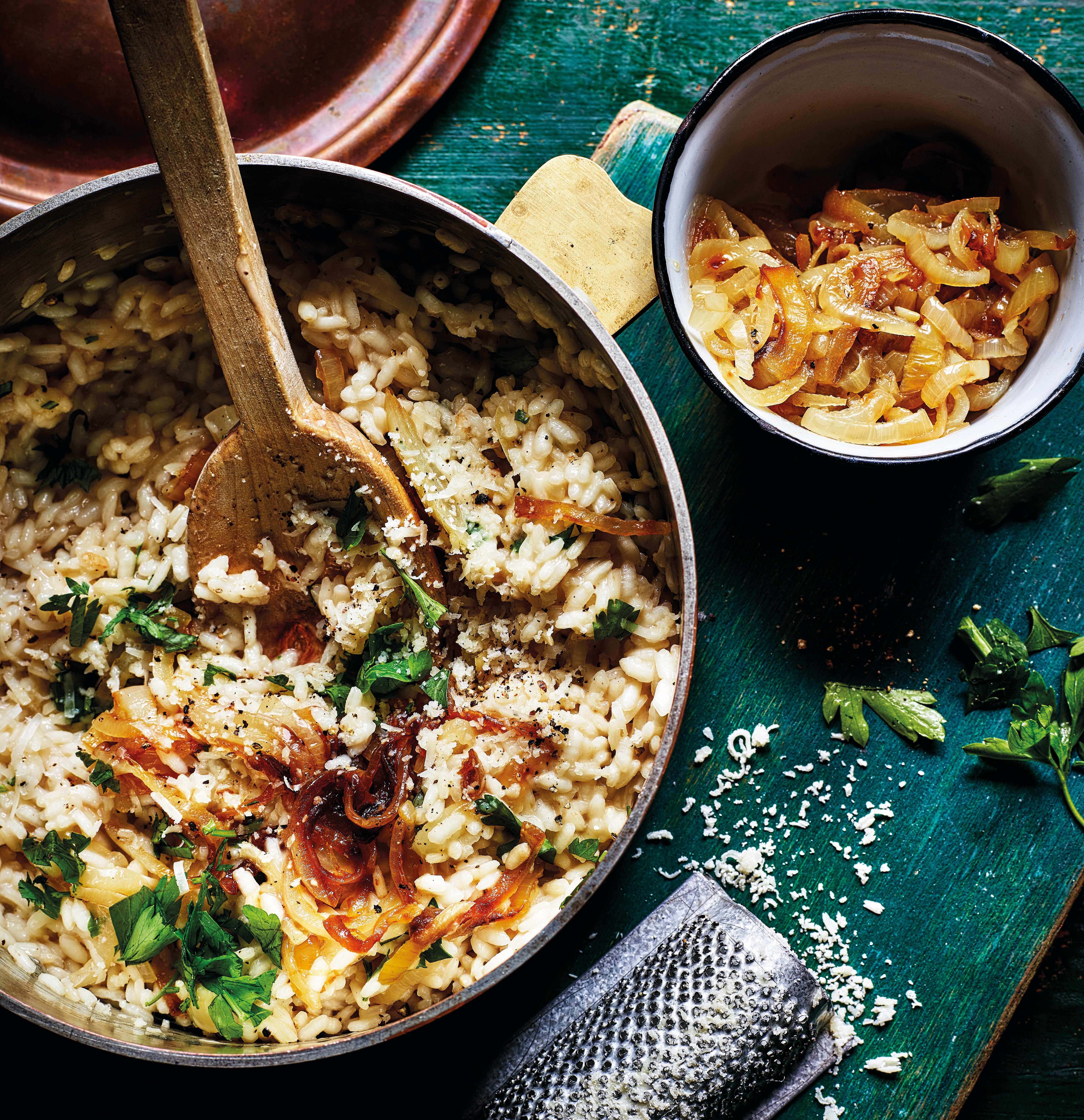 Photo of French onion risotto by WW