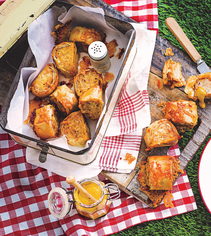 Photo of Chicken, cheese & marmite rolls by WW