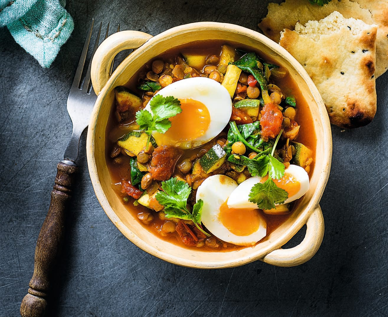 Photo of Egg & lentil curry by WW