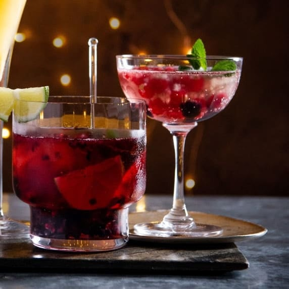 Photo of Prosecco berry cocktail by WW