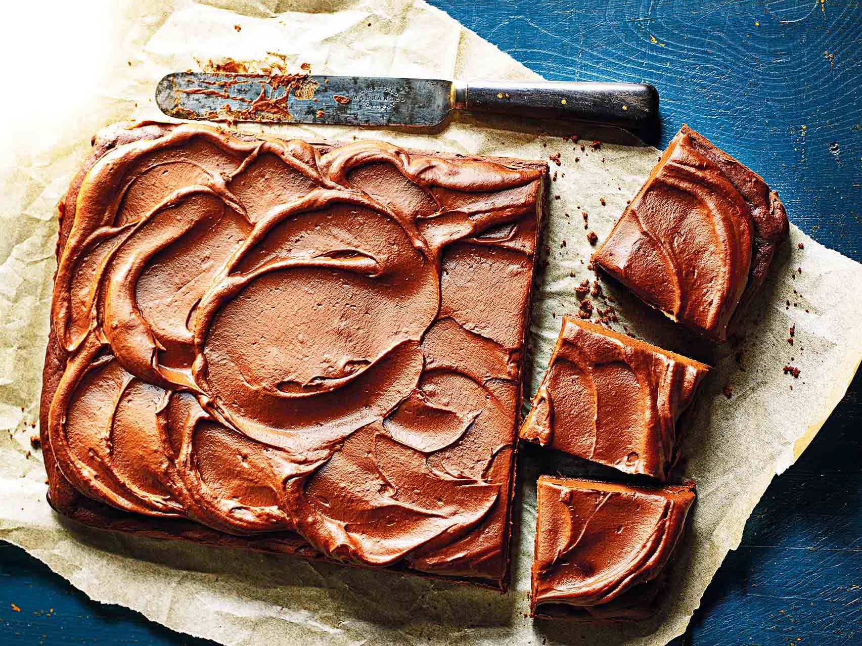 Photo of Chocolate date cake with sweet potato frosting by WW