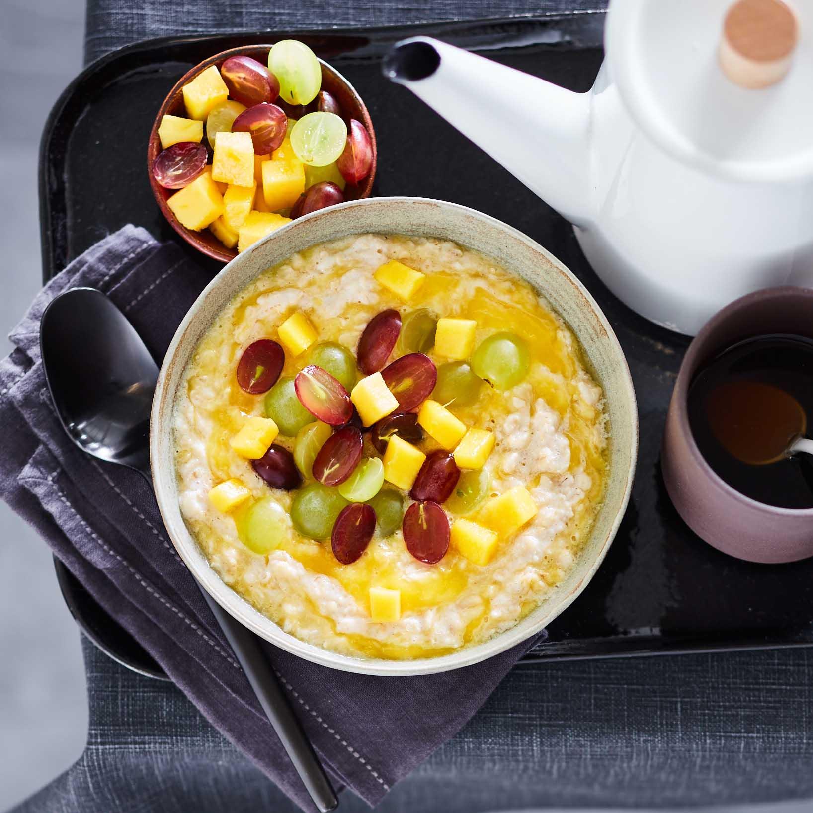 Photo of Mango & grape porridge by WW