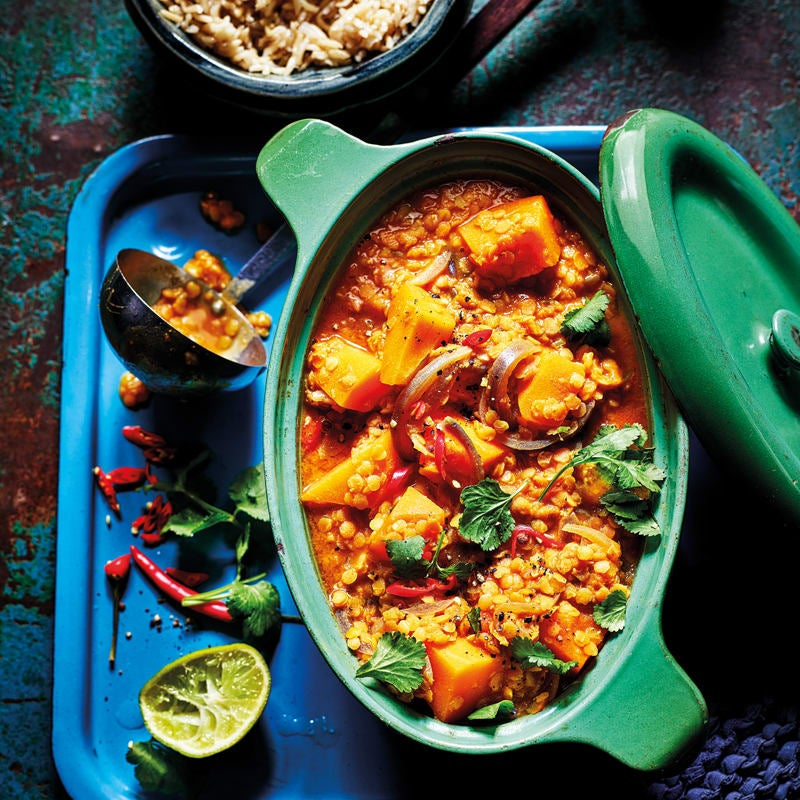 Photo of Red lentil & butternut squash dhal by WW