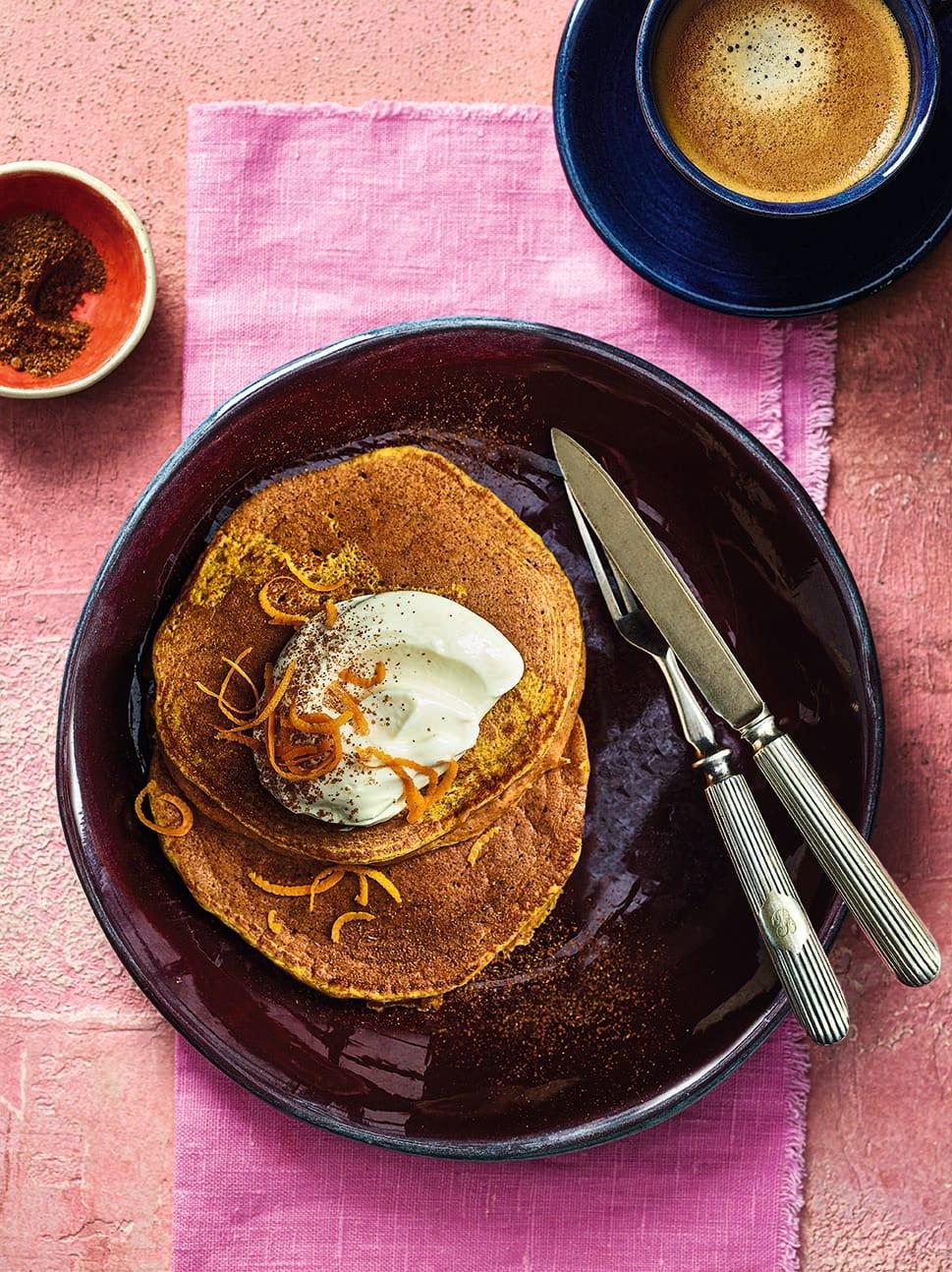 Photo of Pumpkin pie pancakes by WW