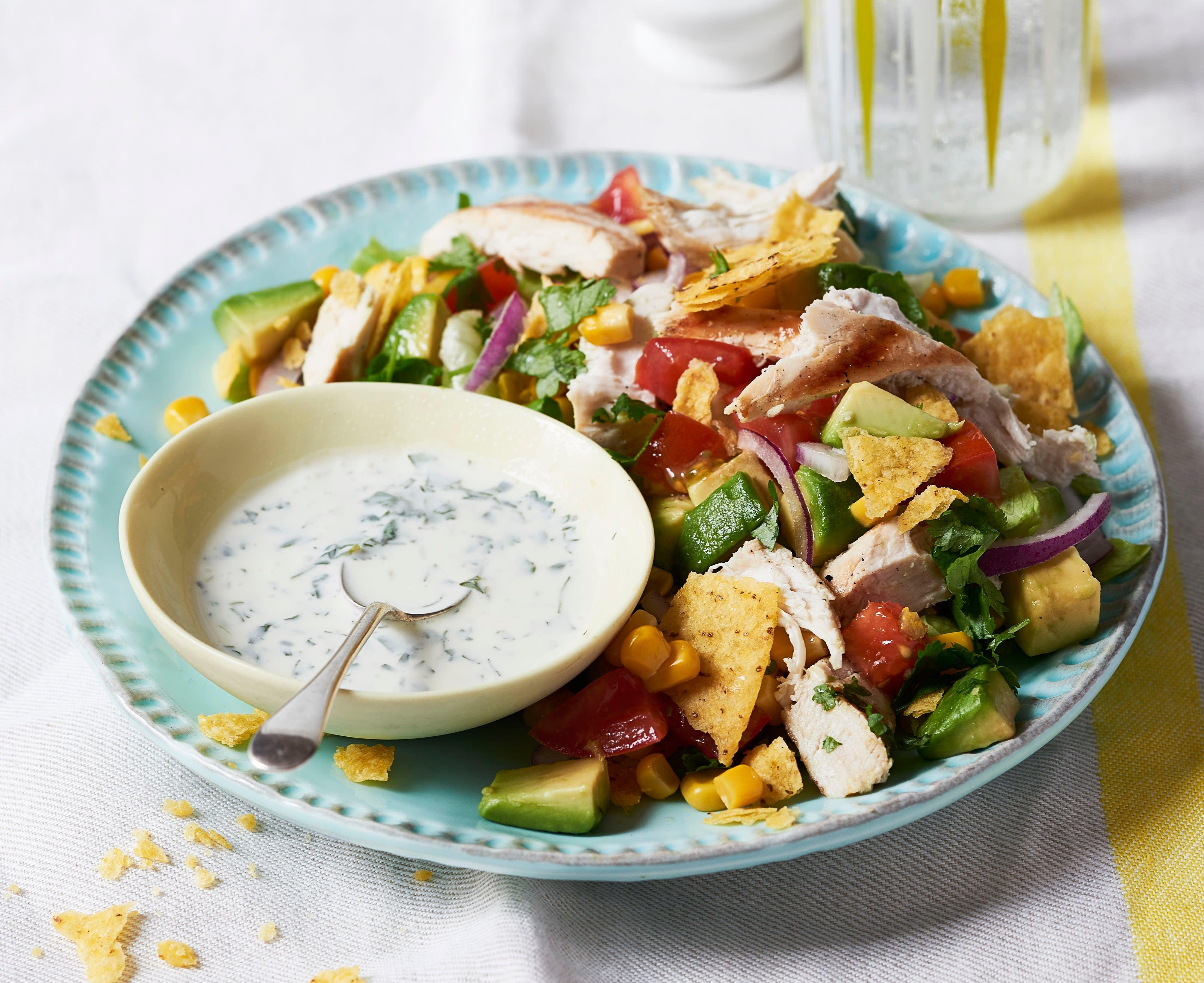 Photo of Chicken taco salad by WW