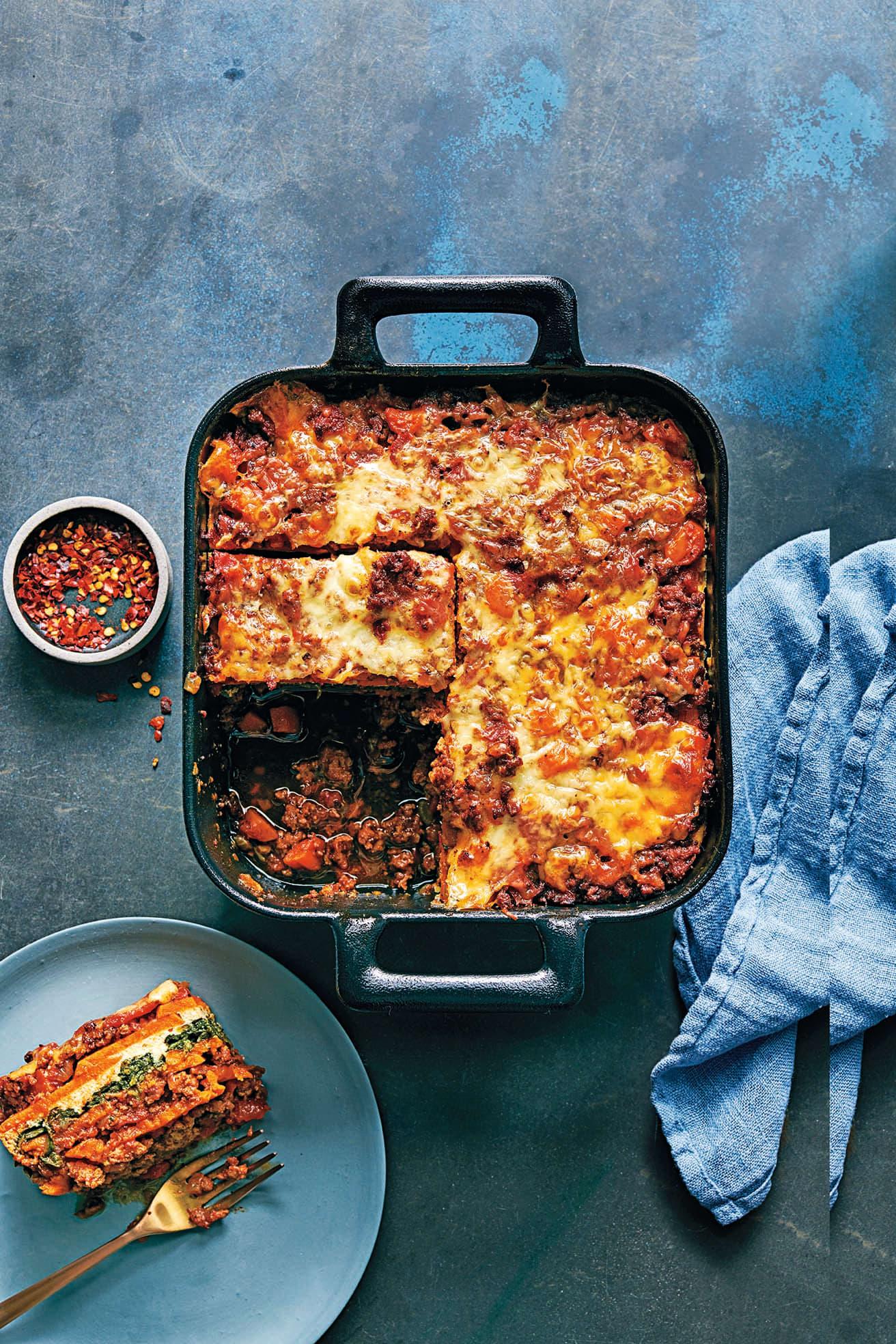Photo of Sweet potato lasagne with turkey & sage by WW