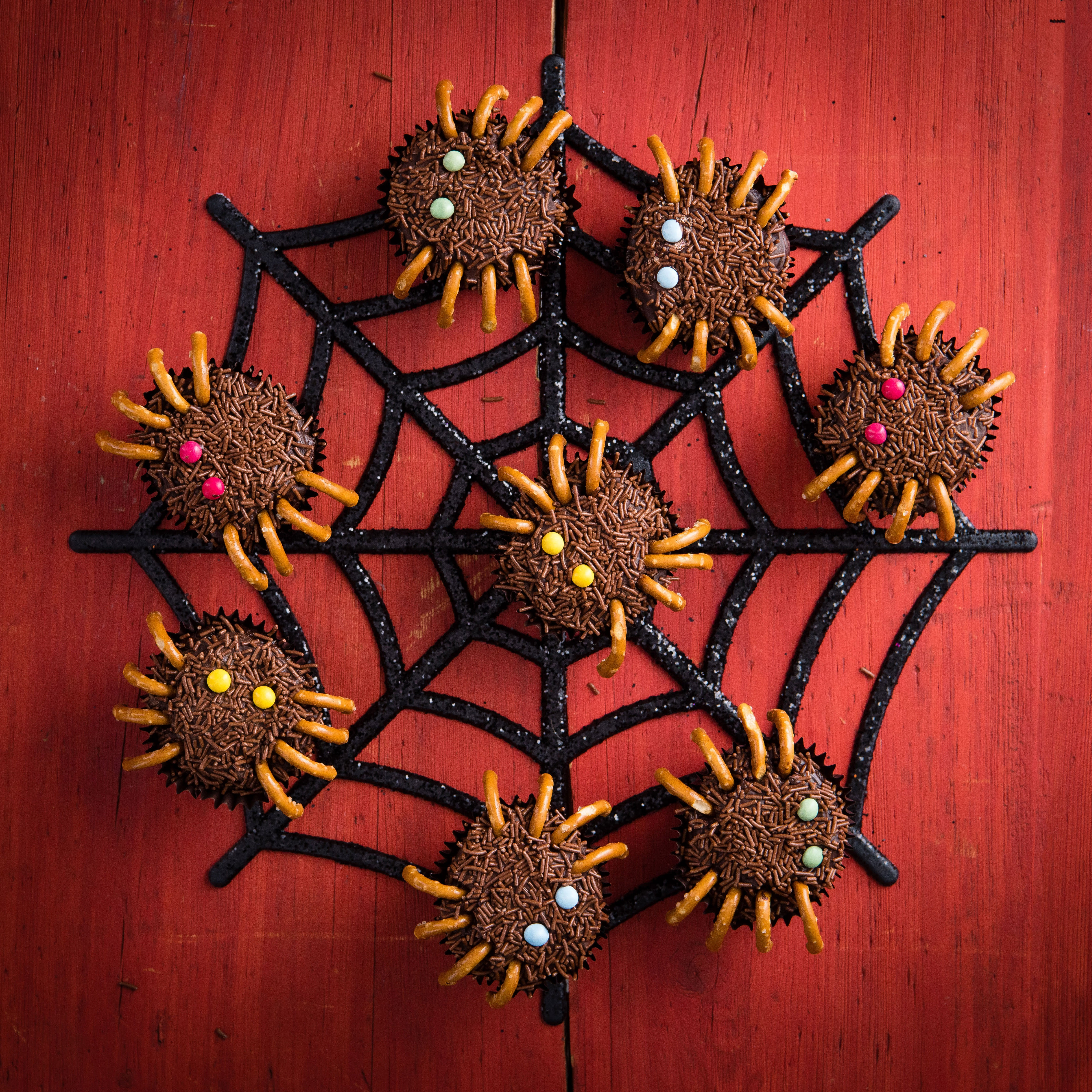 Photo of Chocolate muffin spiders by WW