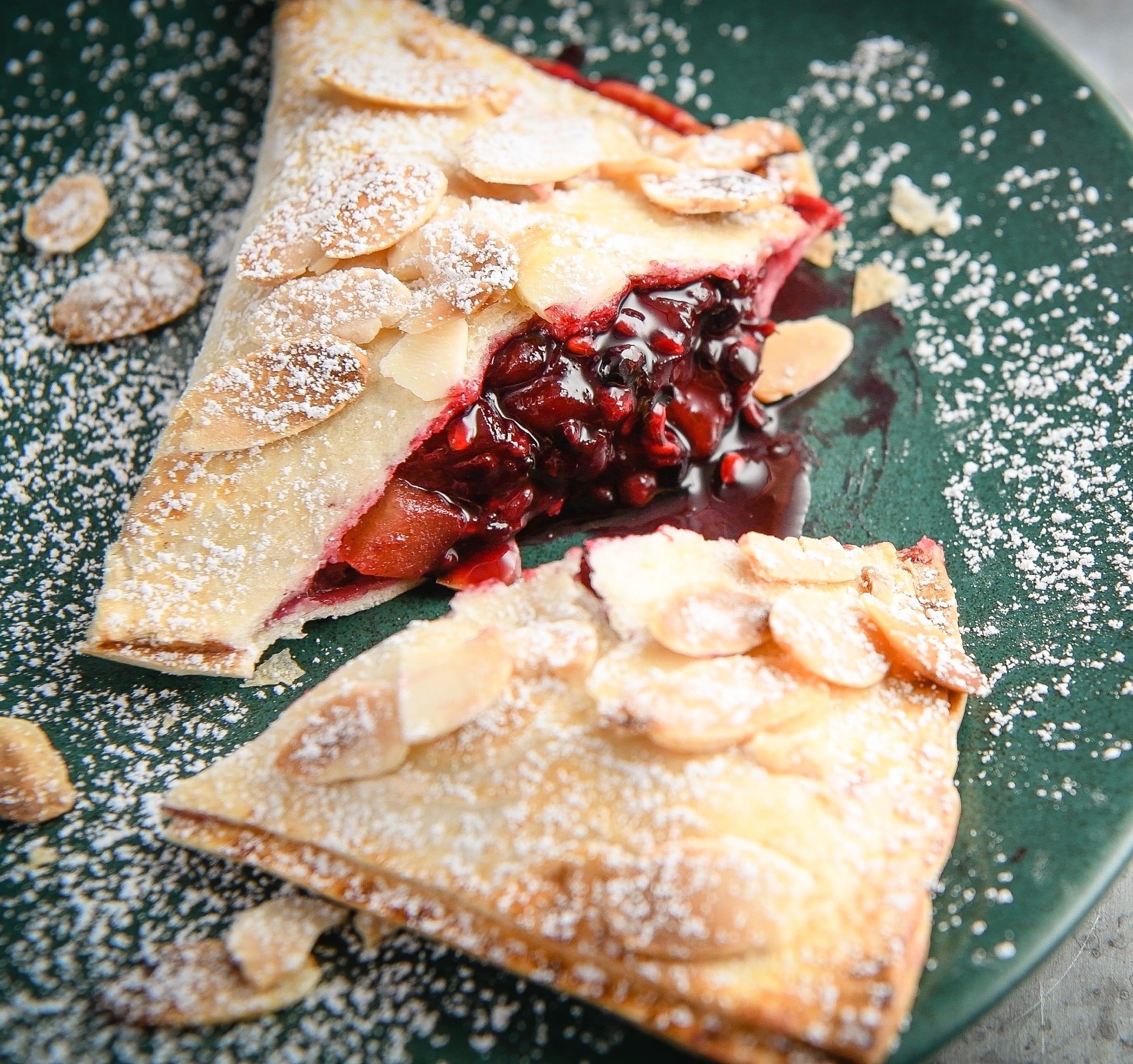 Photo of Apple & blackberry tortilla pies by WW