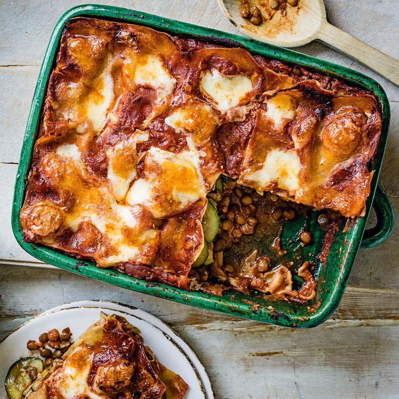 Photo of Courgette & lentil lasagne by WW