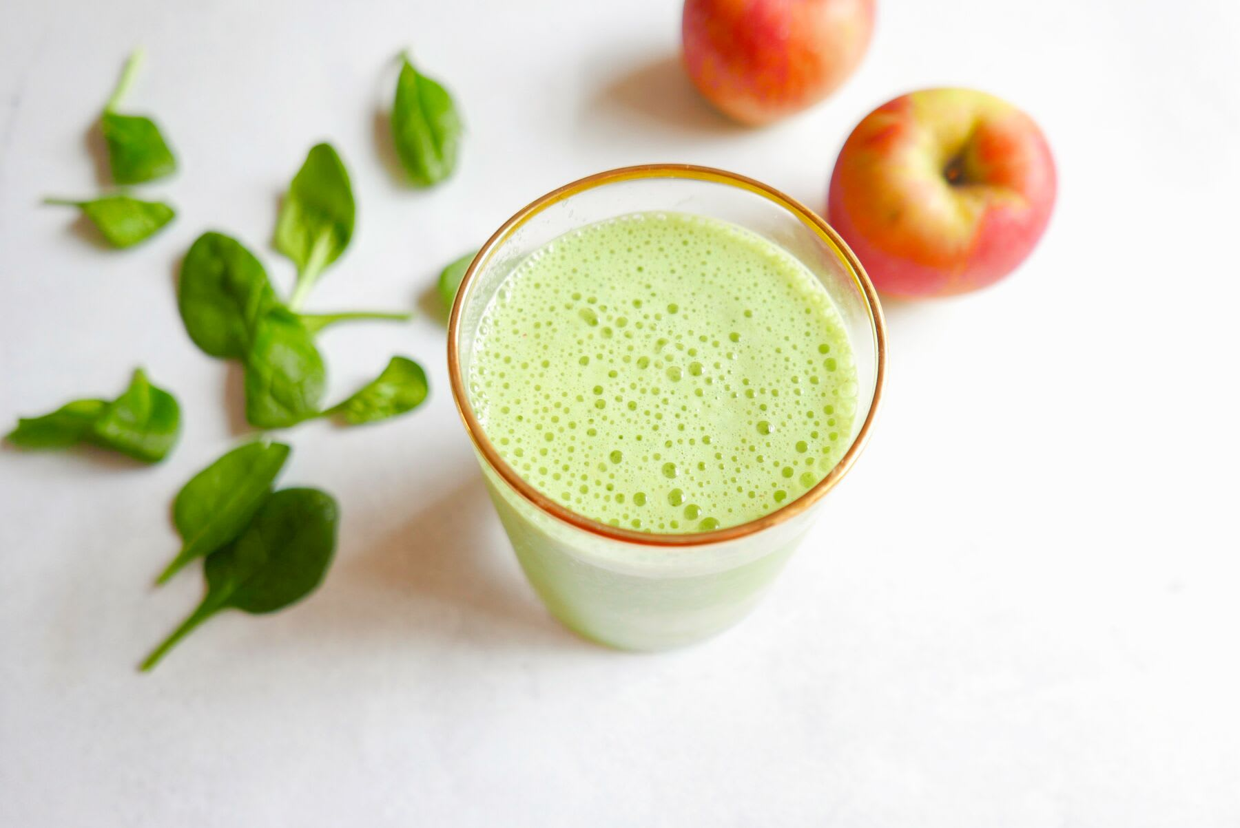 Photo of Apple & greens smoothie by WW