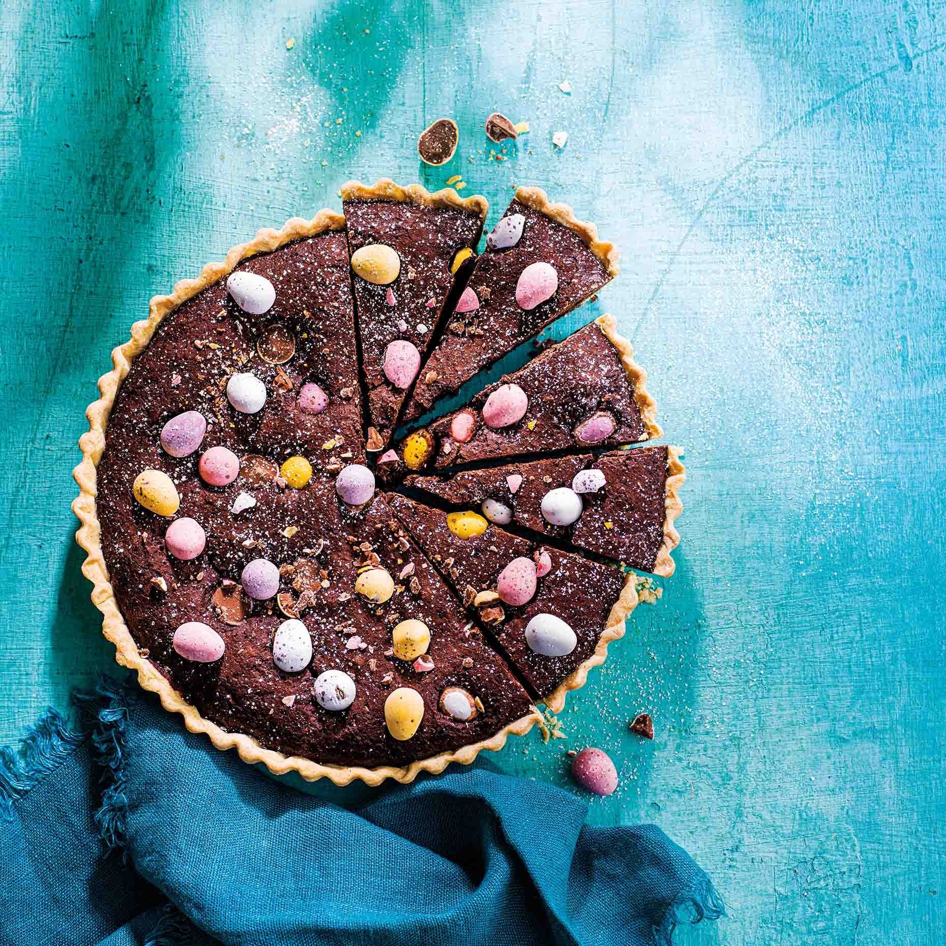 Photo of Mini egg brownie tart by WW