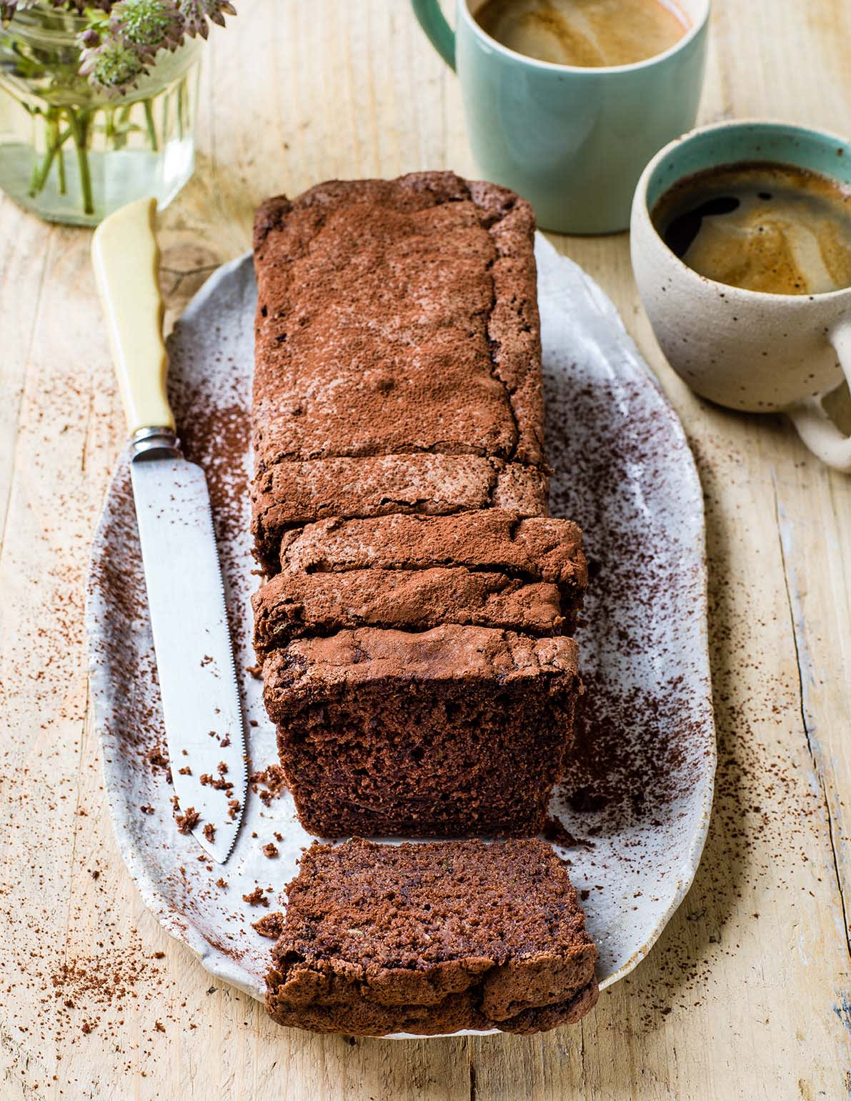 Photo of Chocolate courgette loaf cake by WW