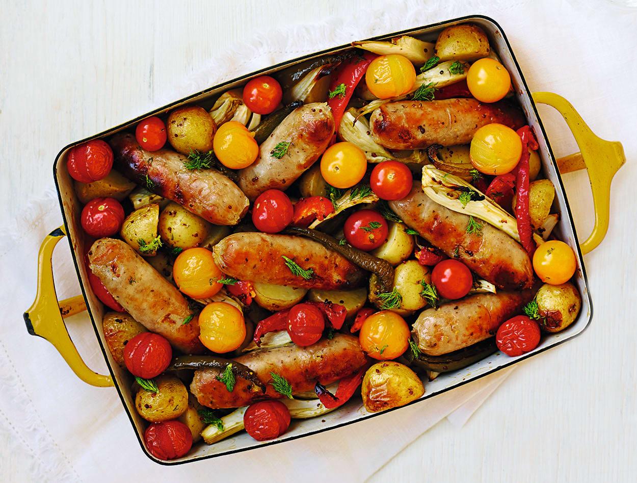 Photo of Summer sausage traybake by WW