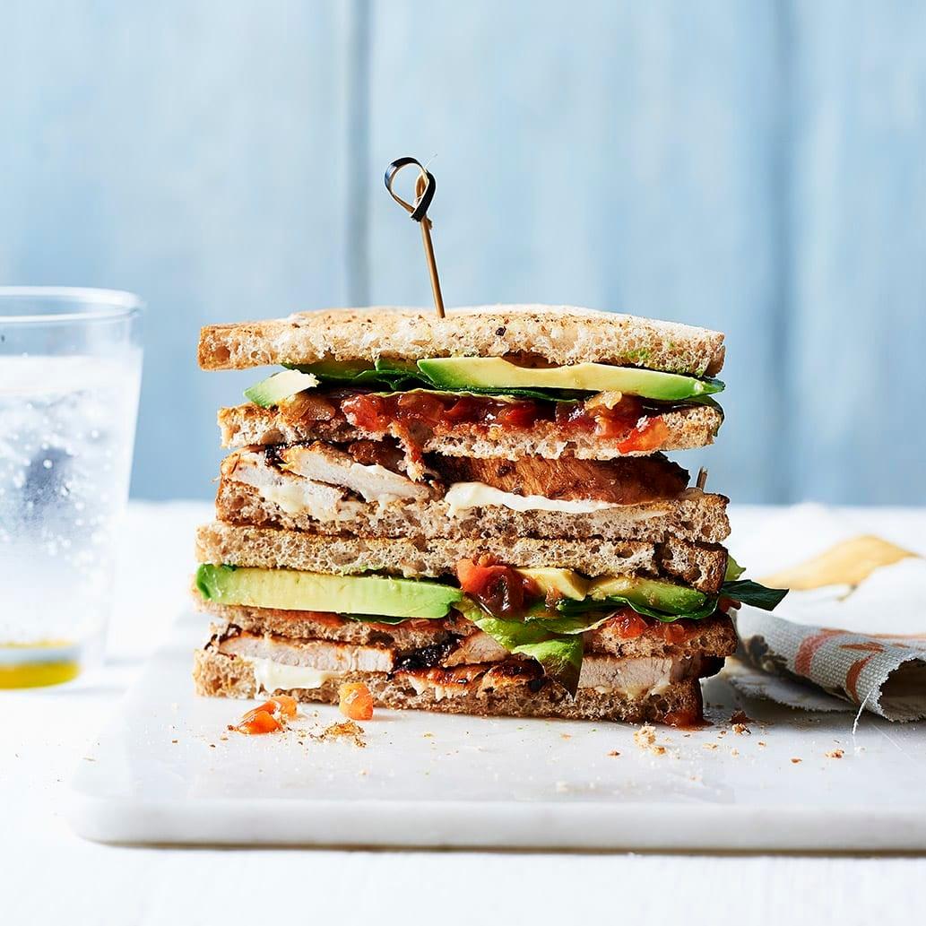 Photo of Chicken club sandwich by WW