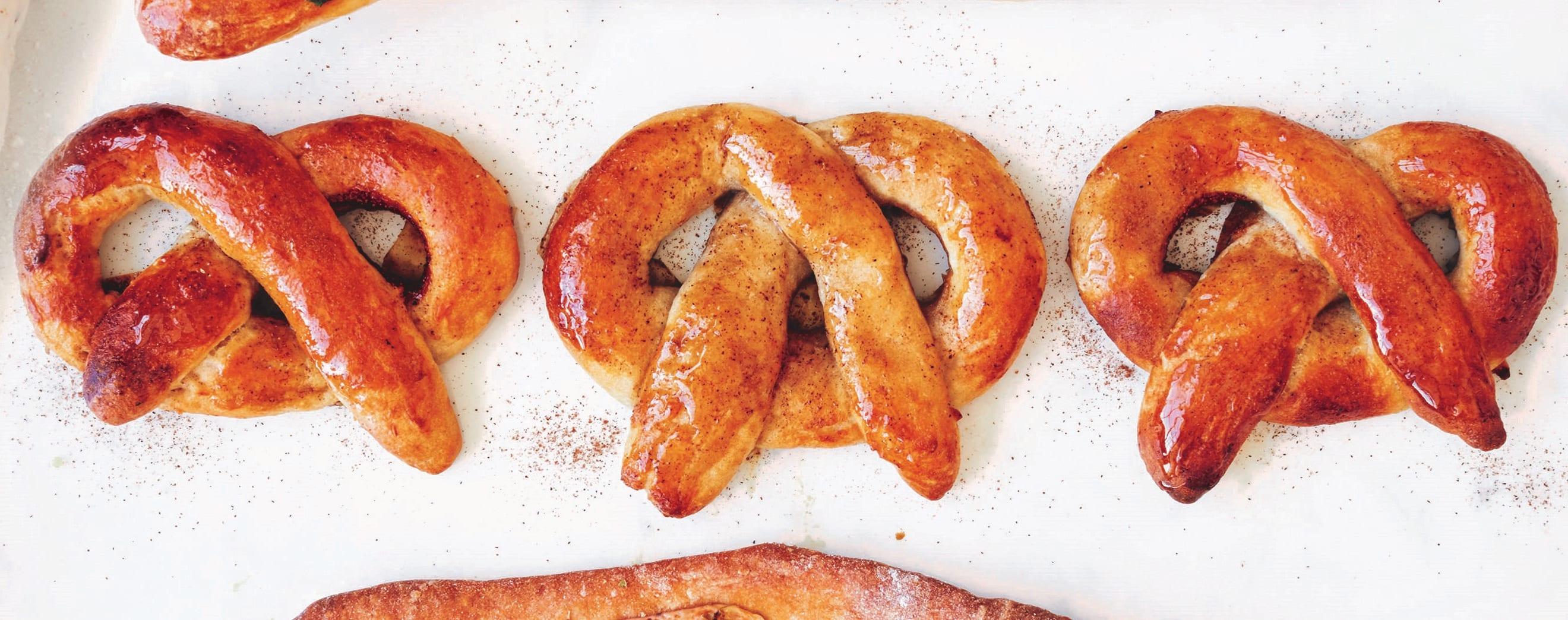 Photo of Cinnamon pretzels by WW