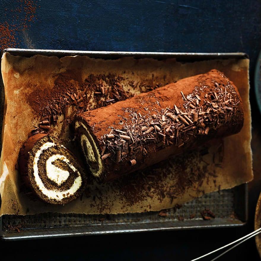 Photo of Tiramisu Swiss roll by WW