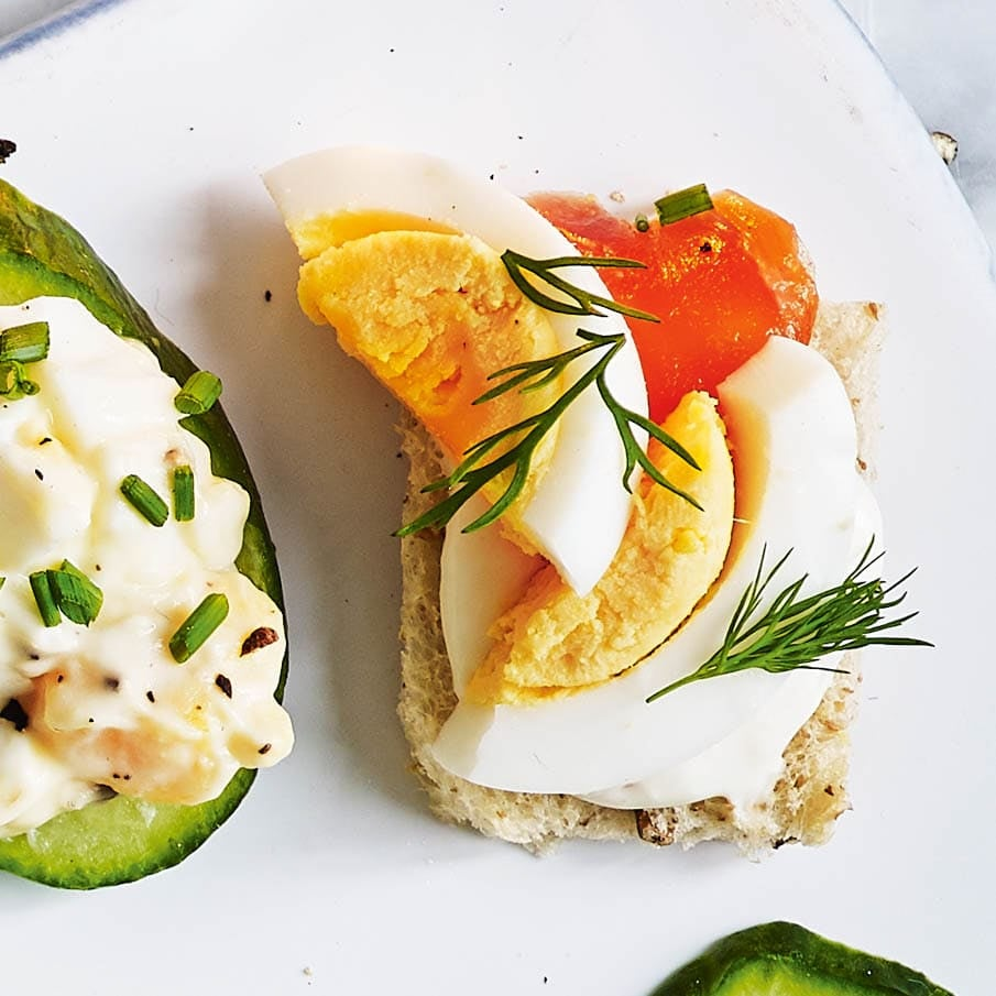 Photo of Egg & salmon toasts by WW