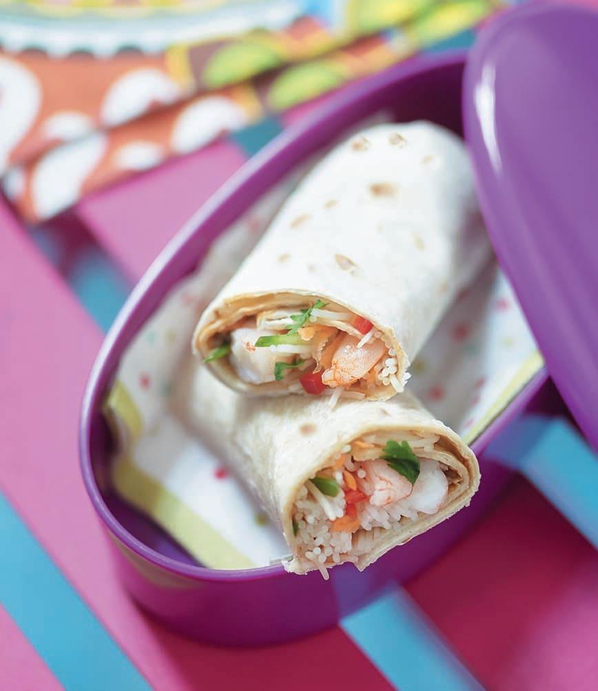 Photo of Prawn Noodle Wraps by WW