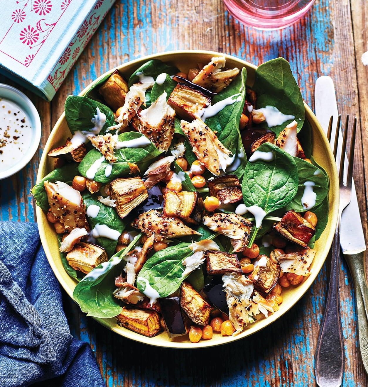Photo of Aubergine & mackerel salad by WW