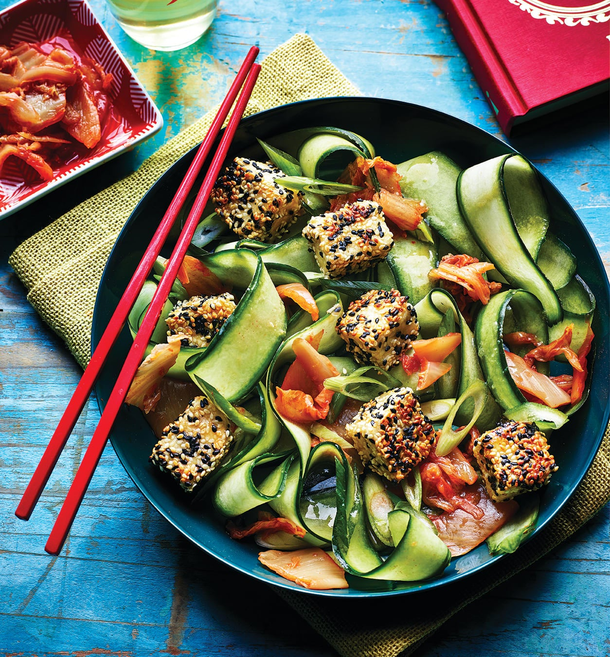 Photo of Crispy sesame tofu with kimchi by WW