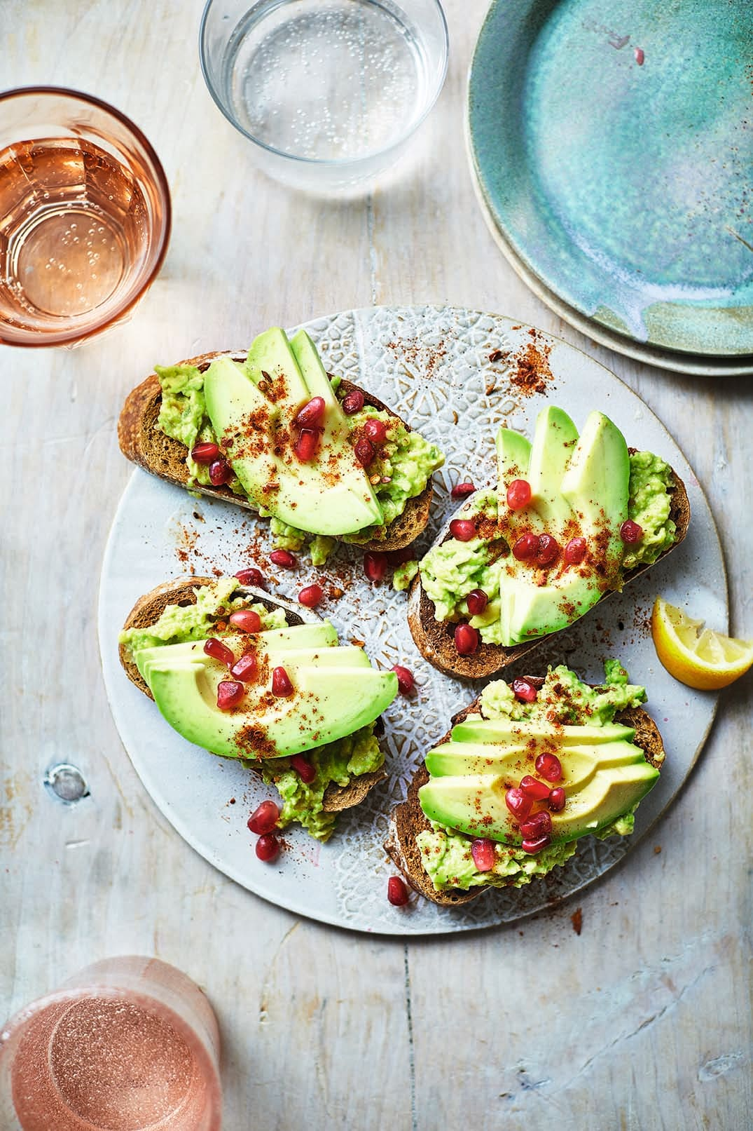 Photo of Moroccan-style avocado on toast by WW