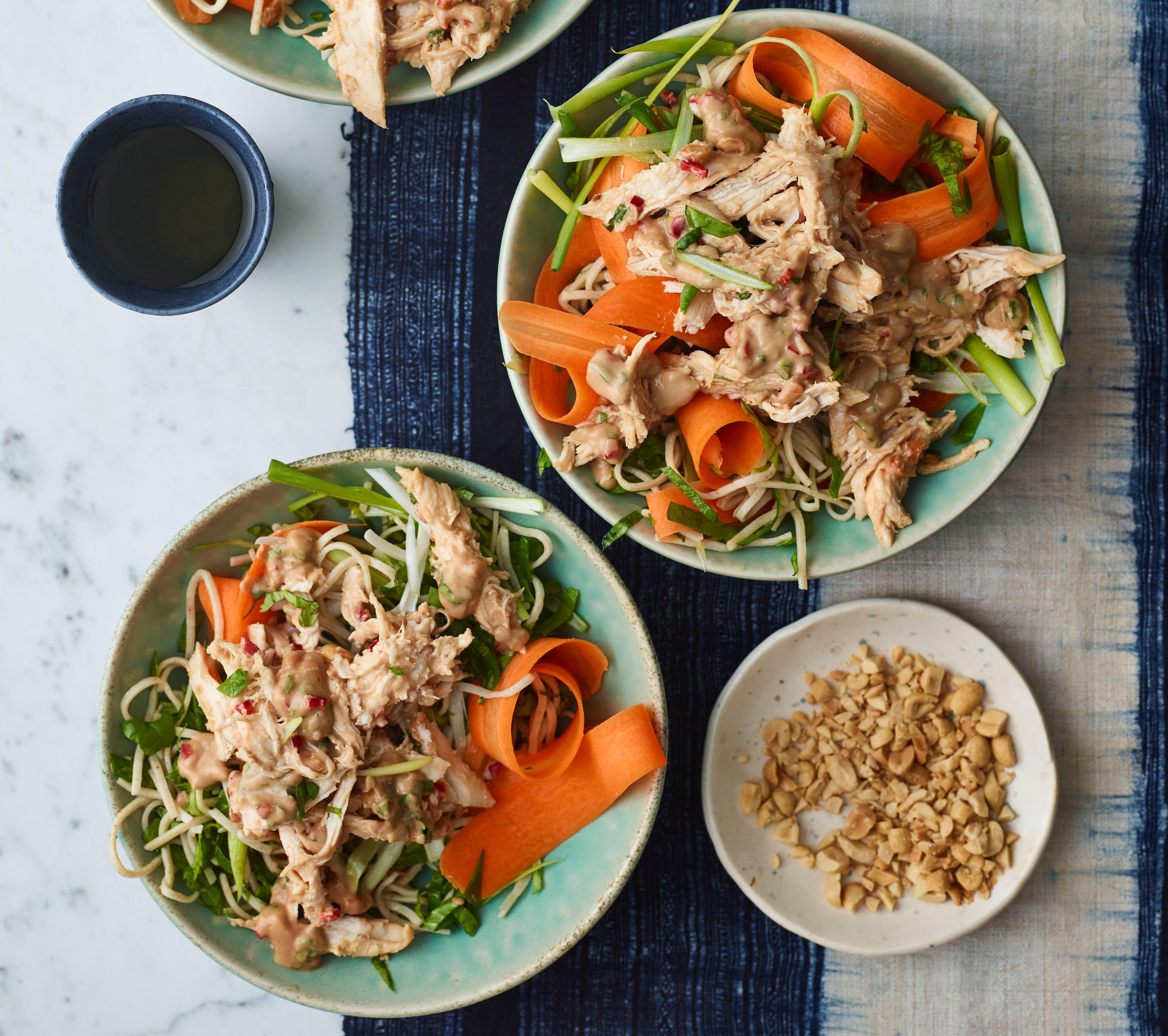 Photo of Sticky peanut butter chicken and noodles by WW