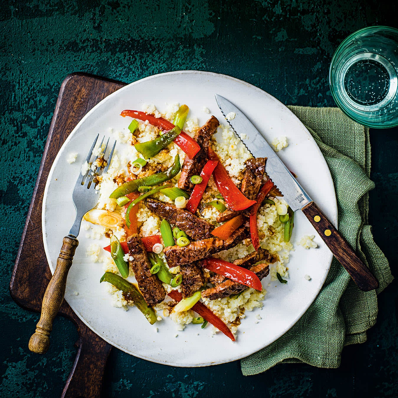 Photo of Mixed pepper & beef stir-fry by WW