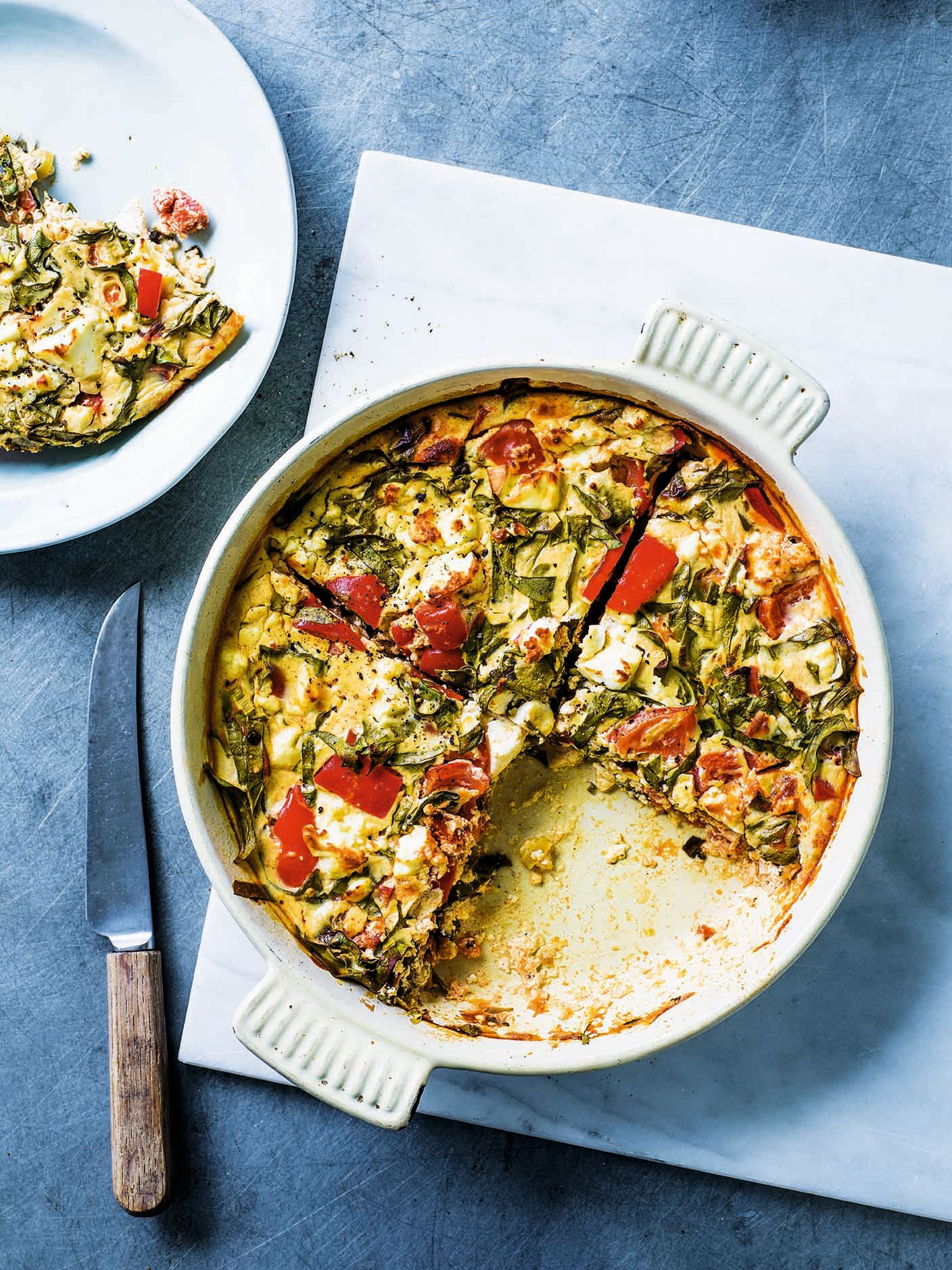 Photo of Mexican-style crustless quiche by WW