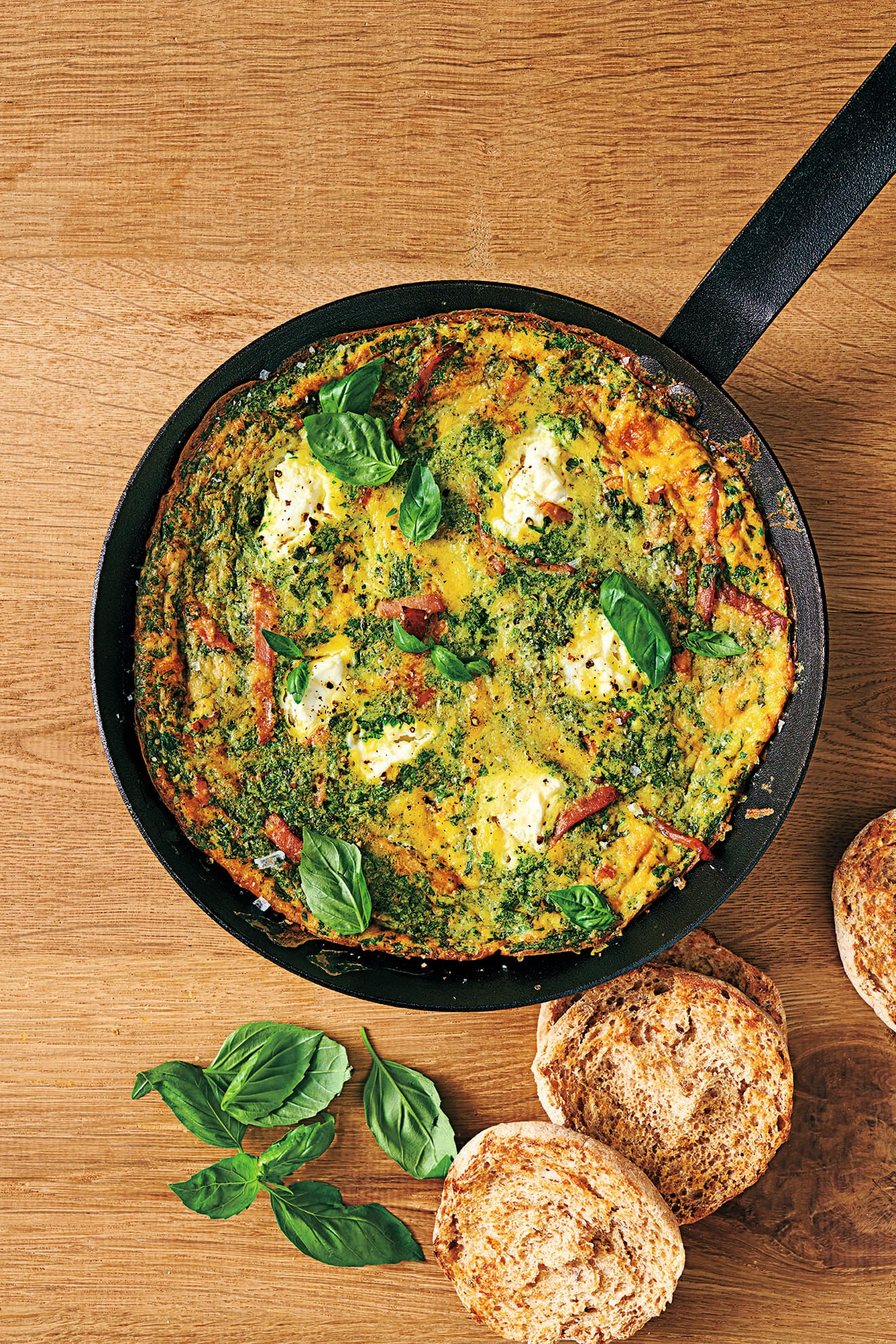 Photo of Herbed ricotta & bacon frittata by WW