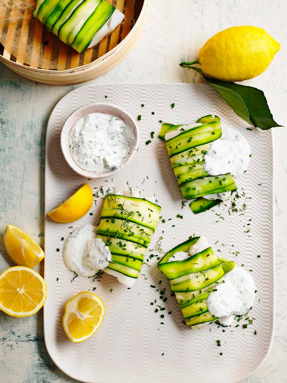 Photo of Courgette-wrapped fish by WW