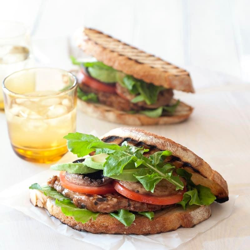 Photo of Smoky beef steak sandwiches by WW