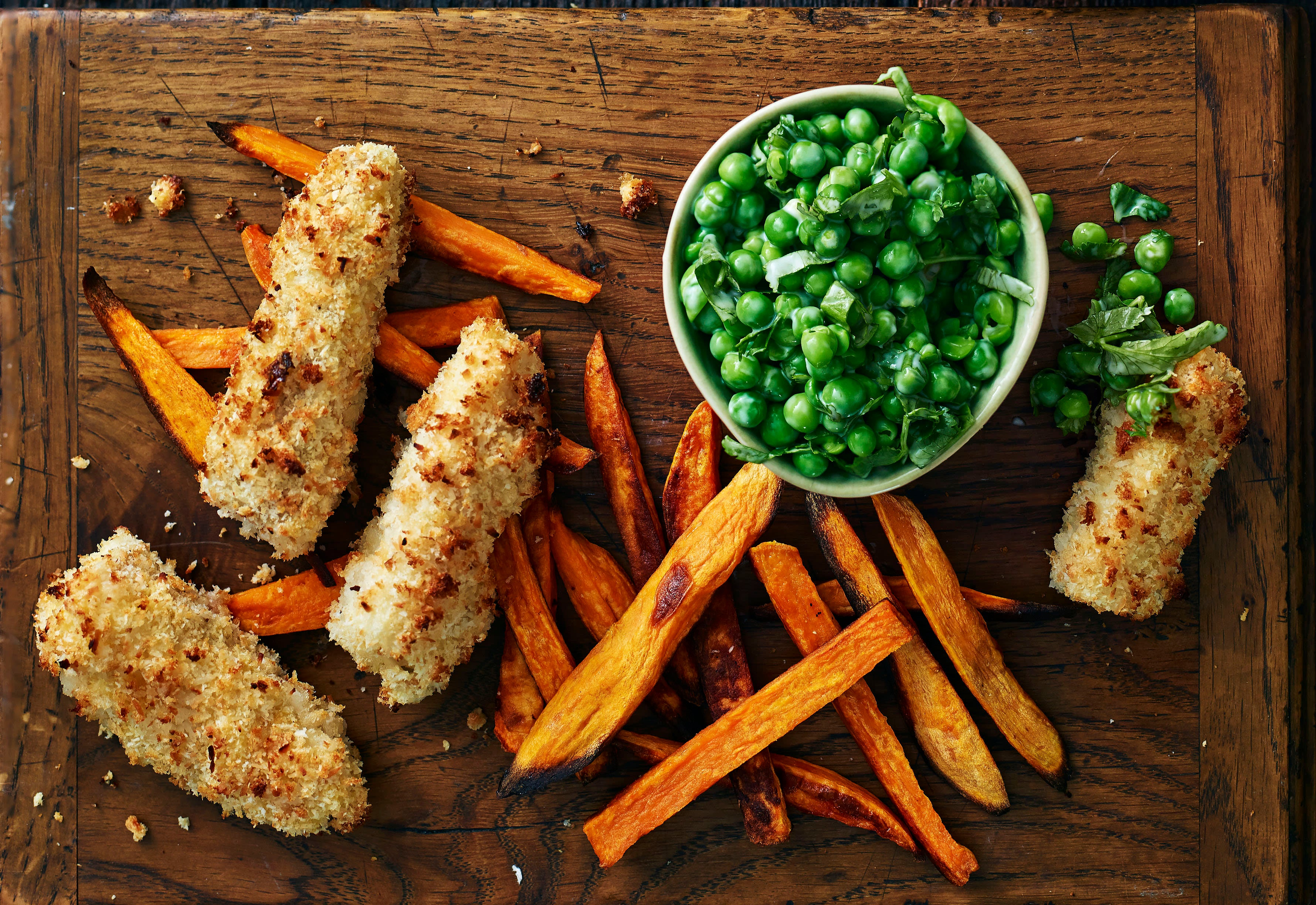 Photo of Coconut-crusted cod fish fingers by WW