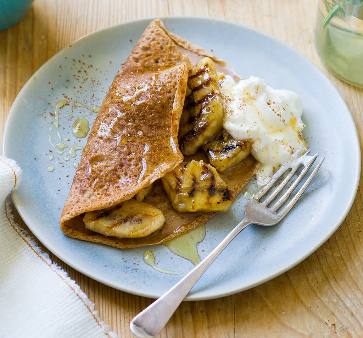 Photo of Cinnamon crêpes with griddled bananas by WW
