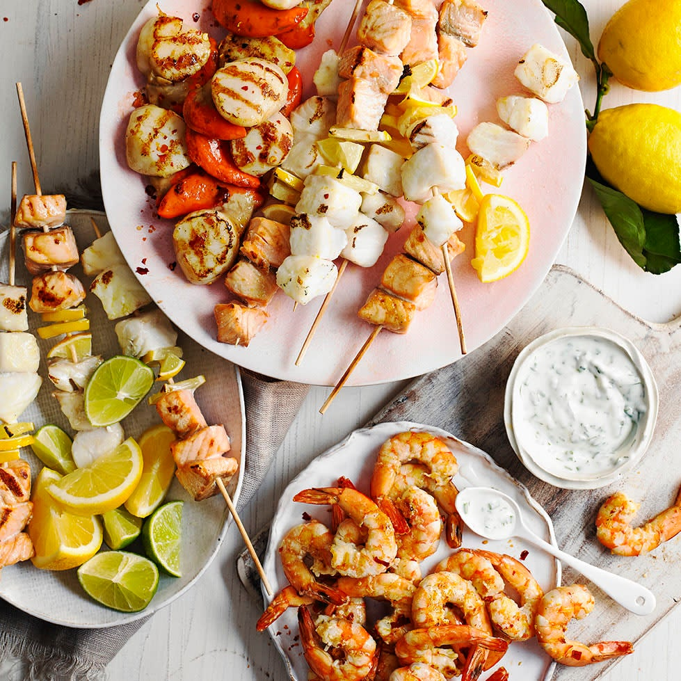 Photo of Griddled seafood platter by WW