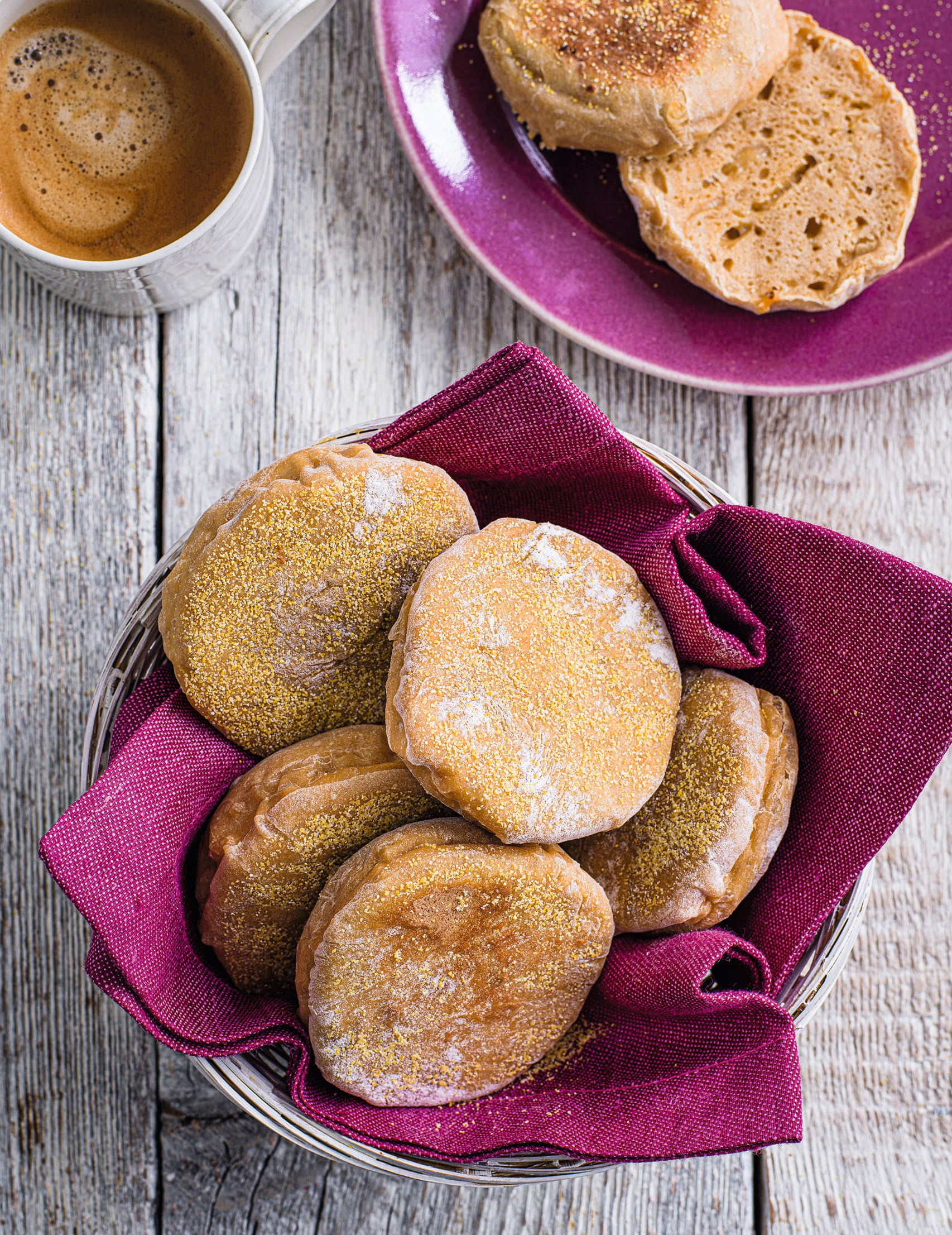 Photo of Cheese & marmite English muffins by WW